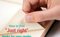 How to find just right books for your reader