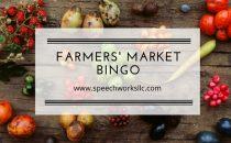 Farmers Market Bingo
