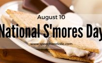 Celebrate National S'mores Day August 10