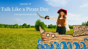 Talk Like a Pirate Day is September 19