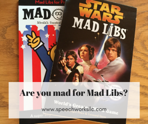 Mad for Mad Libs