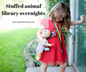 How stuffed animal sleepovers help children read
