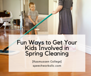 Fun Ways to Get Your Kids Involved in Spring Cleaning [Rasmussen College]