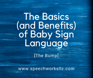 The Basics (and Benefits) of Baby Sign Language [The Bump]
