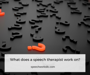 What does a speech-language pathologist actually do?