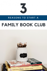 Family book clubs are a great way to engage parents and children in conversation.